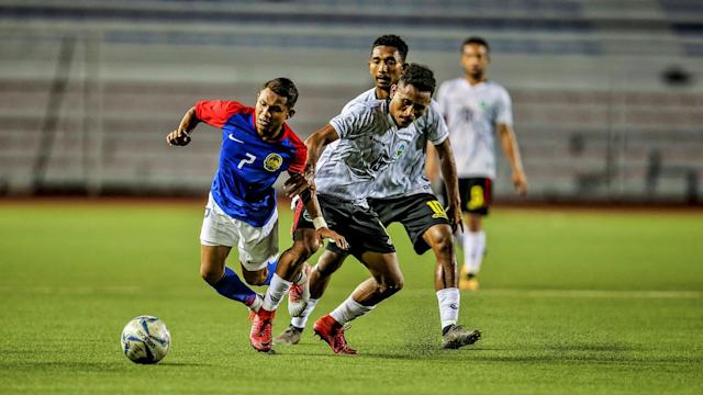 Ong Kim Swee's Malaysia still struggled against Timor-Leste, but managed to record their first win and their first clean sheet. in the SEA Games.