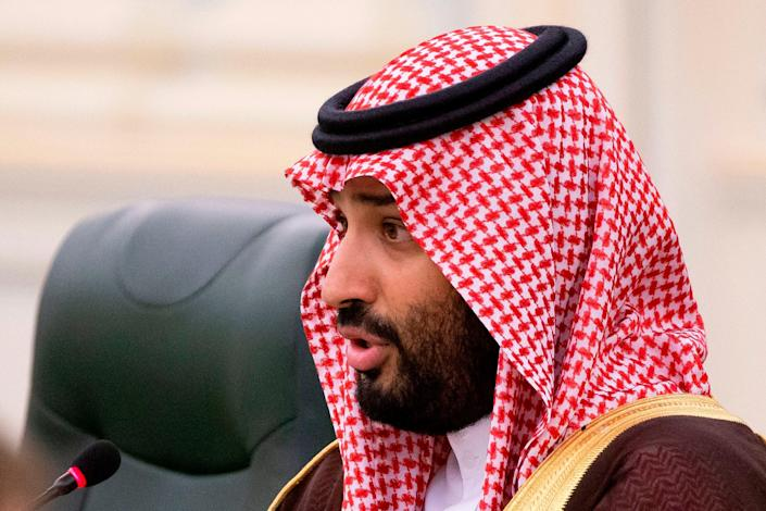 Crown Prince has always denied involvement in killing of dissident journalist (POOL/AFP via Getty Images)
