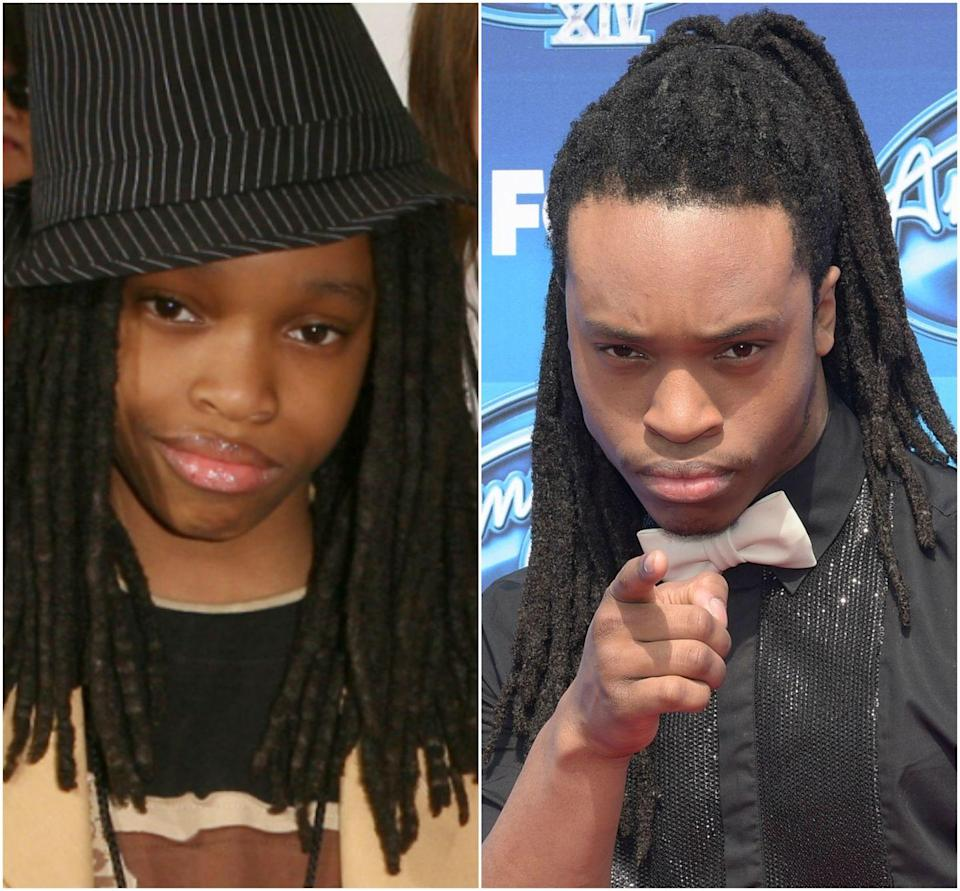 """<p>The guitarist from <em>The Naked Brothers Band</em> went on to play DJ Big Planet on Netflix's <em>The Get Down </em>and was a finalist on Season 14 of <em>American Idol</em>.</p><p>In 2017, <a href=""""https://www.seventeen.com/celebrity/movies-tv/a13995200/naked-brothers-band-reunion/"""" rel=""""nofollow noopener"""" target=""""_blank"""" data-ylk=""""slk:he tweeted"""" class=""""link rapid-noclick-resp"""">he tweeted</a> at his <em>Naked Brothers Band</em> co-stars: """"We gotta do this NBB reunion thing for 2018 y'all."""" His former band mates agreed, and fans lost their damn minds. Sadly, a public reunion hasn't happened as of this writing.<br></p>"""