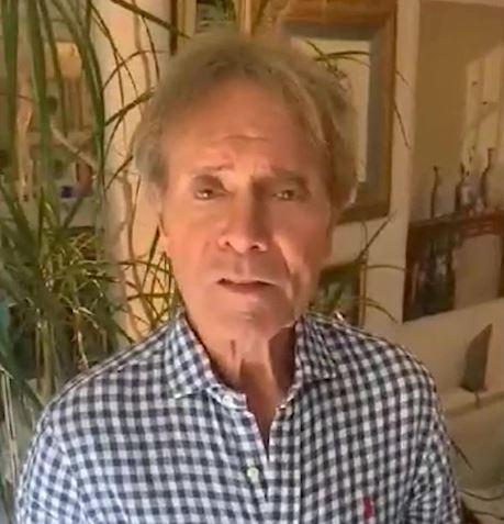 One resident received a message from Cliff Richard (swns)