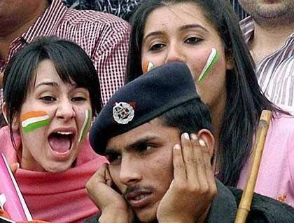 Indians are quite sentimental when watching cricket
