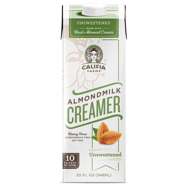 """<p><strong>Califia Farms</strong></p><p>amazon.com</p><p><a href=""""http://www.amazon.com/dp/B01G6GRLJ4/?tag=syn-yahoo-20&ascsubtag=%5Bartid%7C1782.g.24488778%5Bsrc%7Cyahoo-us"""" rel=""""nofollow noopener"""" target=""""_blank"""" data-ylk=""""slk:BUY NOW"""" class=""""link rapid-noclick-resp"""">BUY NOW</a></p><p>There are only 10 calories per every tablespoon of this stuff.</p>"""