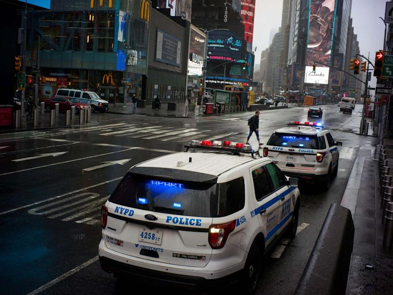NYPD officers arrested a man on Saturday for operating a bar during coronavirus lockdown: REUTERS