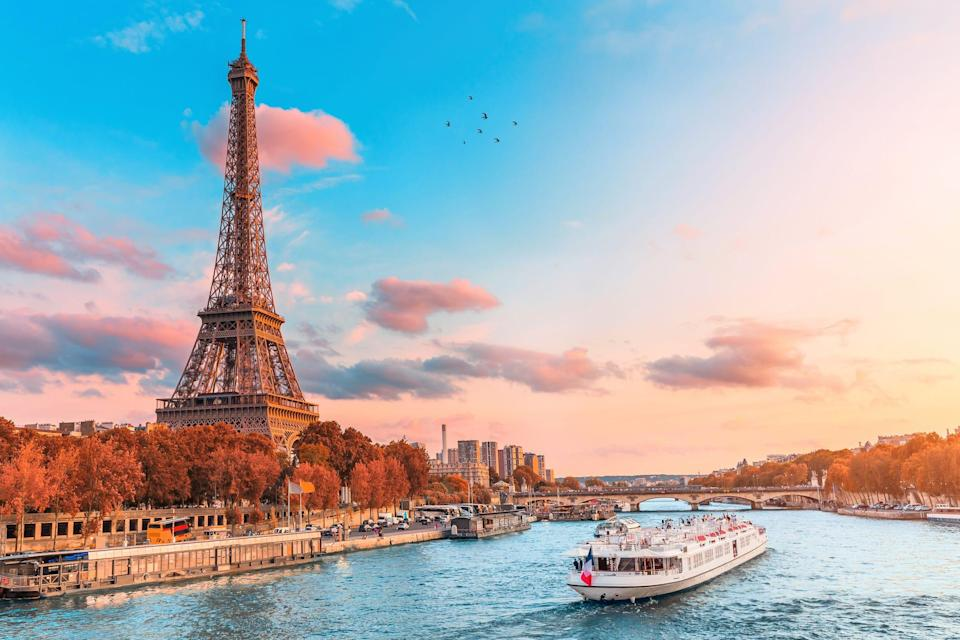 France topped the list of Virtuoso's poll on the top destinations of 2021.