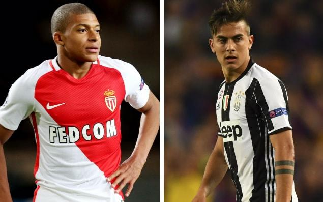 Monaco host Juventus in the first leg of the Champions League