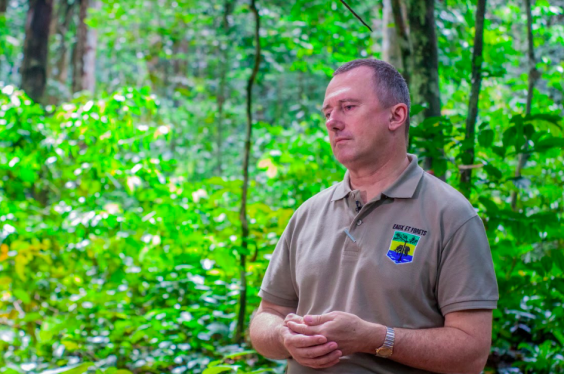 Professor Lee White, Gabon's Minister of Forests, Oceans, Environment and Climate Change