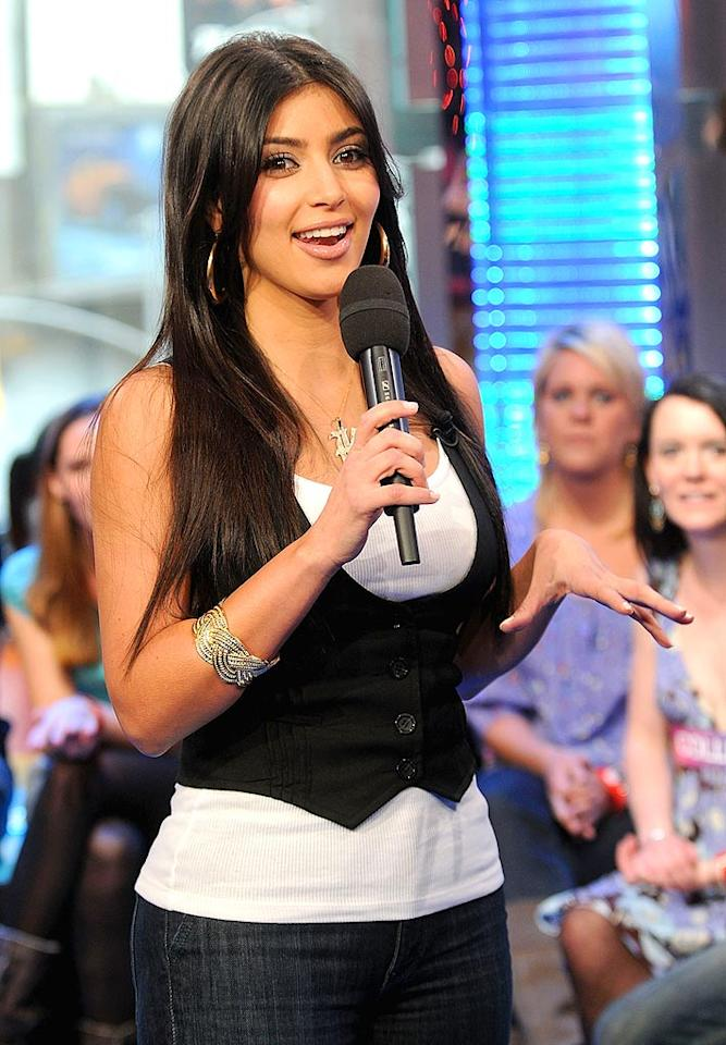 "The buxom brunette announced on her blog that she's going to appear on ""American Idol"" ... as an audience member. Jamie McCarthy/<a href=""http://www.wireimage.com"" target=""new"">WireImage.com</a> - March 10, 2008"