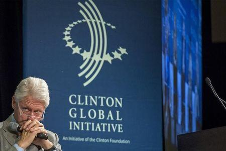 Former U.S. President Bill Clinton attends the Clinton Global Initiative's 2015 Winter Meeting in New York