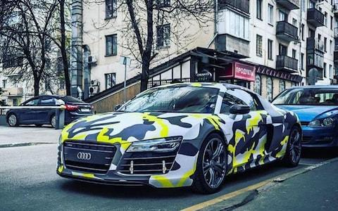 Audi R8 belonging to an Evil Corp group member, according to the UK's National Crime Agency - Credit: SOURCE: NCA