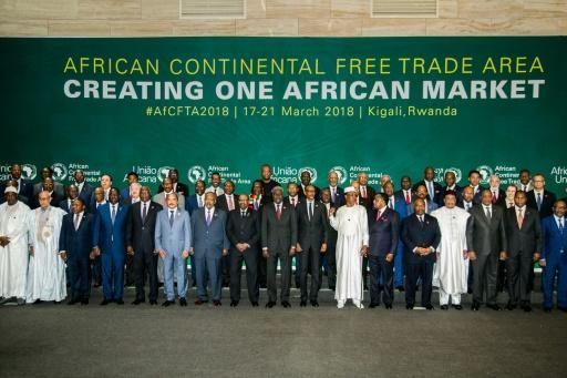 forty four african countries sign a free trade deal