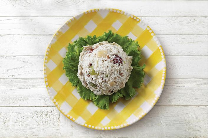 With their Fancy Nancy variety, Chicken Salad Chick gives chicken salad a sweet and crunchy boost using apples, grapes and pecans. (Chicken Salad Chick)