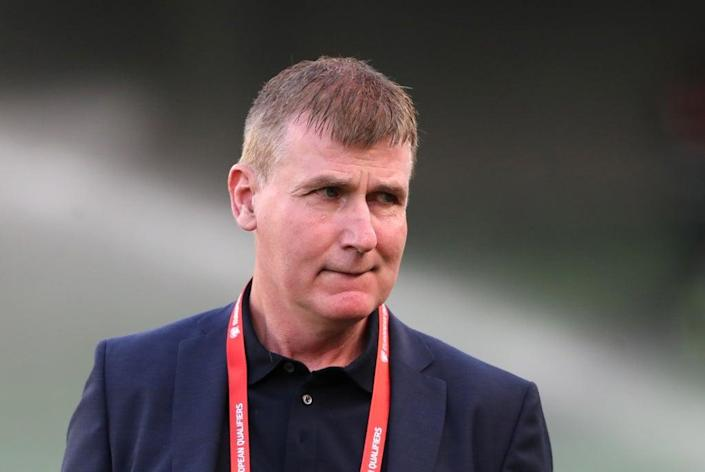 Republic of Ireland manager Stephen Kenny tasted competitive victory in Azerbaijan for the first time at the 13th attempt (Liam McBurney/PA) (PA Wire)