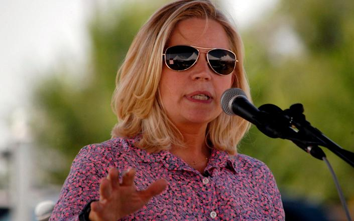 Liz Cheney is the daughter of former US vice president Dick Cheney - REUTERS