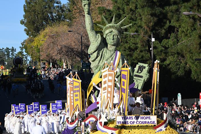 The Rose Parade is being canceled in 2021 because of the pandemic.