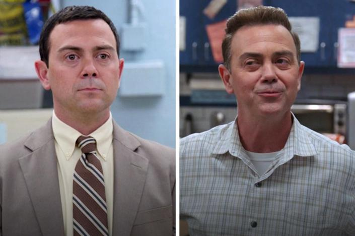 Boyle in the first and last episode
