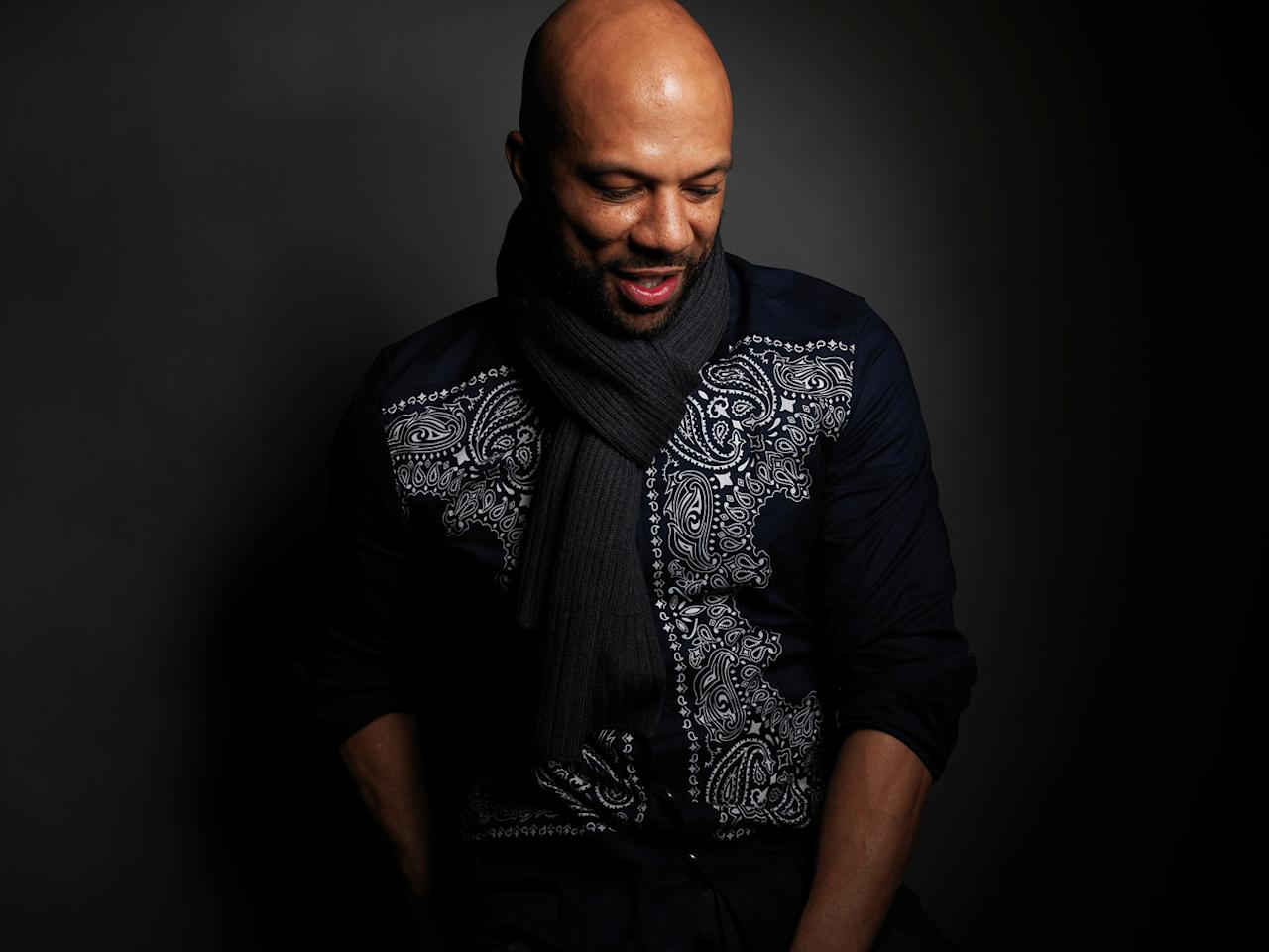 """Common from the film """"LUV,"""" poses for a portrait during the 2012  Sundance Film Festival on Monday, Jan. 23, 2012, in Park City, Utah."""