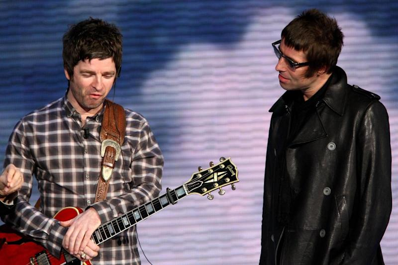 Sibling rivalry: Noel and Liam Gallagher (Getty Images)