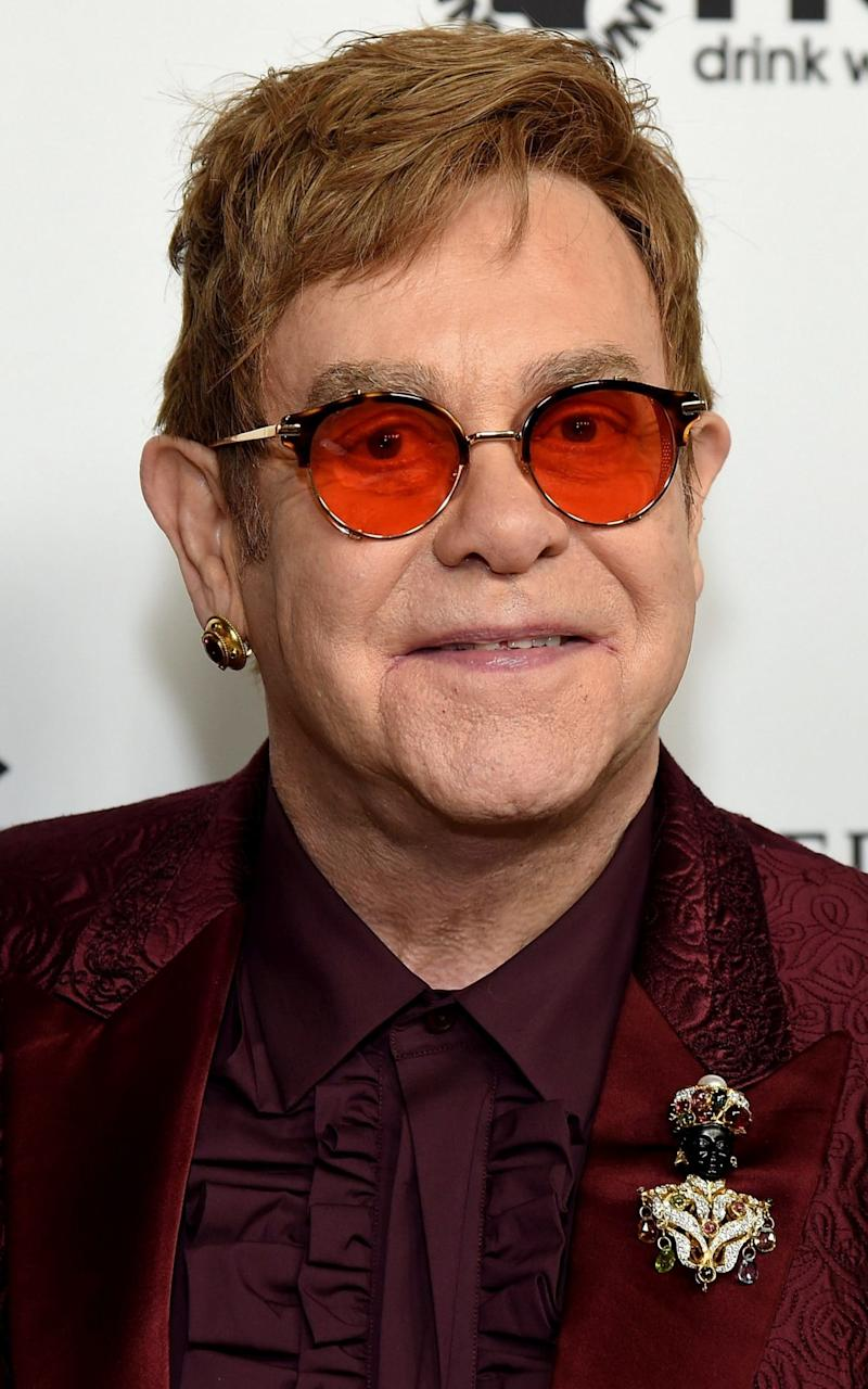 Elton John - Credit: Michael Kovac /Getty