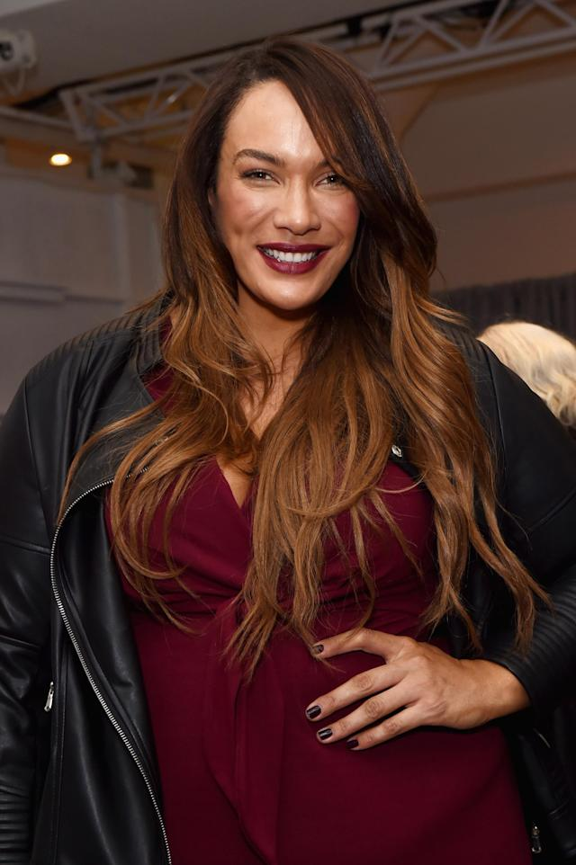 Model and professional wrestler Nia Jax at the Dia&Co fashion show and industry panel at the 2017 theCURVYcon. (Photo by Daniel Zuchnik/Getty Images for Dia&Co,)