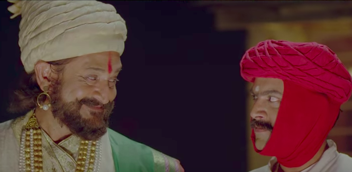 <p><strong>Me Shivajiraje Bhosale Boltoy (This is Shivajiraje Bhonsle speaking)</strong><br />Imagine if Shivaji visits you one night. The film tells the story of a Marathi manoos who feels there is no Maharashtra left in cosmopolitan Mumbai. He detests being a Marathi, until one night Shivaji Maharaj pays him a visit. What happens next? Watch it. </p>