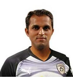 T.P. Sudhindra: The 28-year-old pace-bowling all-rounder has made 27 first-class appearances and earned a contract with Deccan Chargers in 2012, after excelling for Madhya Pradesh in the Ranji Trophy. Sudhindra was the leading wicket-taker in the Elite division with 40 wickets. In 2009, he was granted amnesty by the BCCI after ending his tenure with the now defunct ICL. The sting operation shows Sudhindra agreeing to bowl a no-ball for Rs. 50,000 in a local league match at Indore.