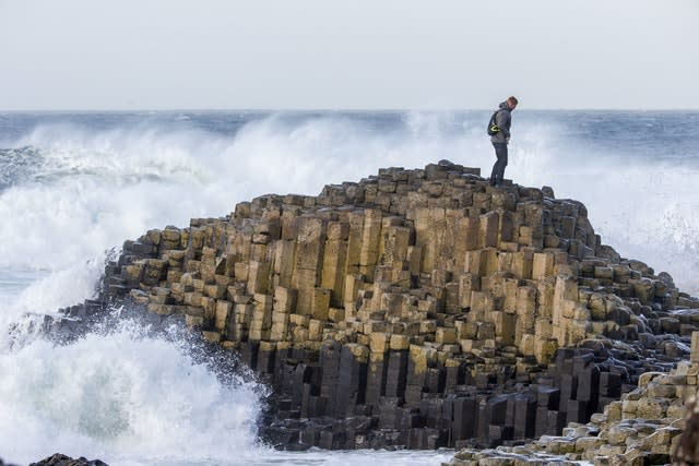 The outlook for the Giant's Causeway and Causeway Coast has improved (Liam McBurney/PA)
