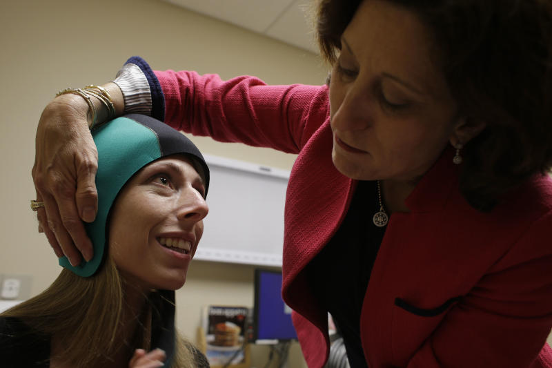 Cold caps tested to prevent hair loss during chemo