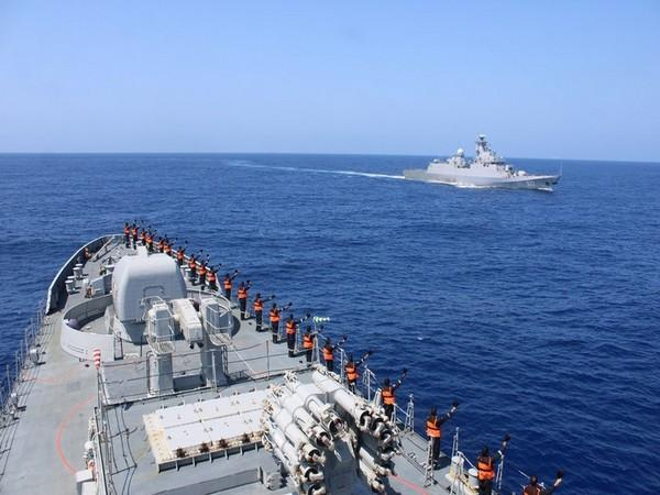 INS Tabar takes part in Maiden Maritime Partnership Exercise with Algerian Navy