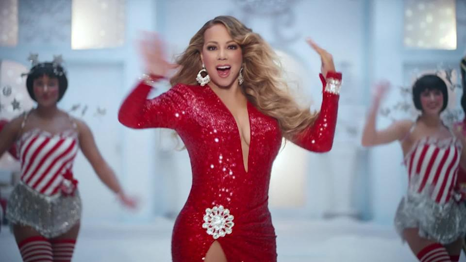 Mariah Carey dances in a colourful new chip ad for Walkers Crisps.
