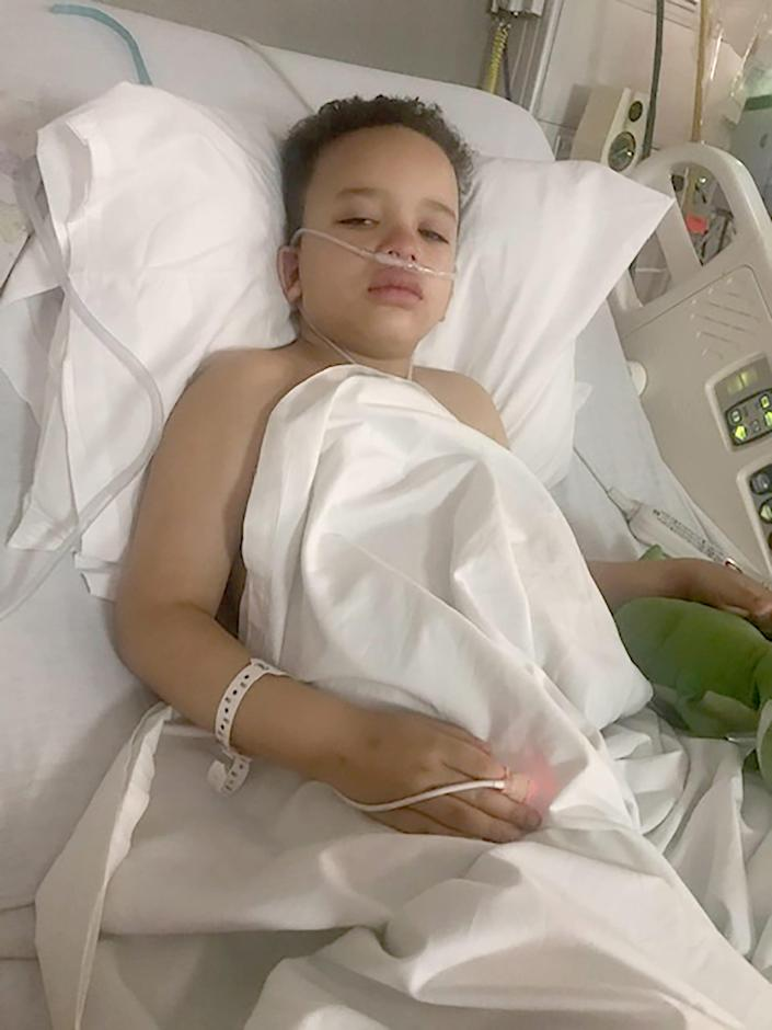 Levi Nobles, 7, of Shelby Township, was among the Michigan children hospitalized with the newly identified disease associated with the novel coronavirus. Called Multisystem Inflammatory Syndrome, it's sickened hundreds of kids nationally and can be deadly. Levi is now continuing to recover at home.
