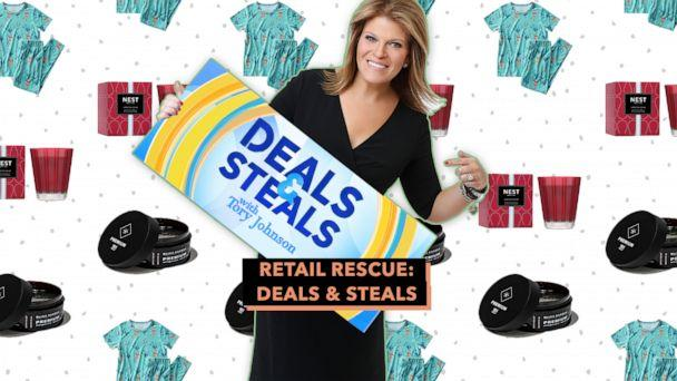 PHOTO: Retail Rescue: Deals & Steals (ABC News Photo Illustration, Blind Barber, NEST, Rockets of Awesome)