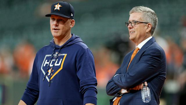 A.J. Hinch and Jeff Luhnow have been fired by the Houston Astros, who have received sanctions from MLB after sign-stealing allegations.