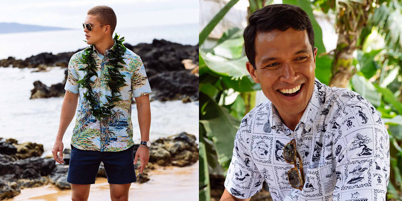 07784a2d46 This OG Hawaiian Shirt Brand Just Got an Extra Beach-Friendly Update
