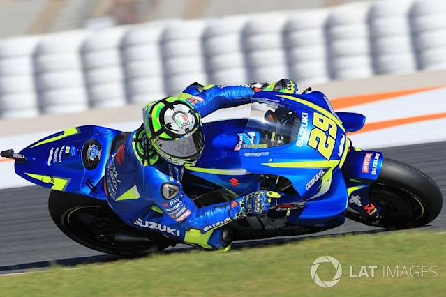 """2017 : Andrea Iannone <span class=""""copyright"""">Gold and Goose / Motorsport Images</span>"""