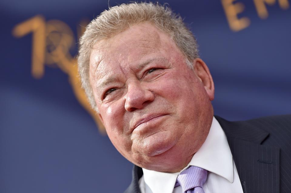 LOS ANGELES, CA - SEPTEMBER 08:  William Shatner attends the 2018 Creative Arts Emmy Awards at Microsoft Theater on September 8, 2018 in Los Angeles, California.  (Photo by Axelle/Bauer-Griffin/FilmMagic)