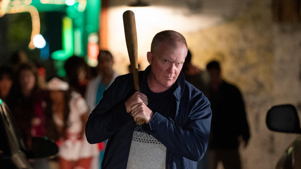 Anthony Michael Hall steps into the role of Tommy Doyle in slasher sequel 'Halloween Kills'. (Ryan Green/Universal Pictures)
