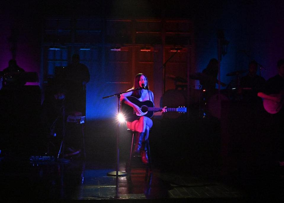 """Kacey Musgraves performs on """"Saturday Night Live."""" - Credit: Will Heath/NBC"""