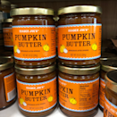 <p><strong>Made with simple ingredients like pumpkin, spices and sugar, this pumpkin butter gives us total Fall vibes.</strong> One tablespoon serving is only 40 calories and is perfect on pumpkin waffles or toast.</p>