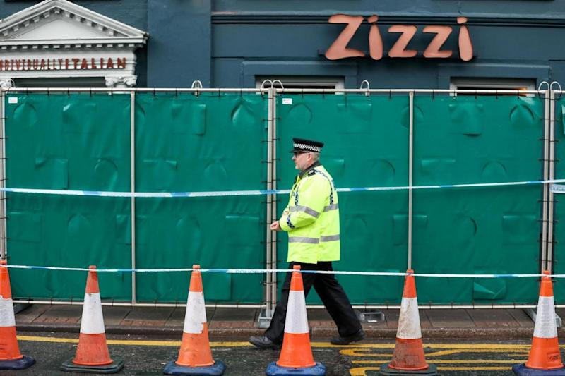Traces of the nerve agent used to poison Sergei Skripal and his daughter Yulia were found at Zizzi in Salisbury (PA)