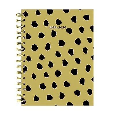 """<h3><a href=""""https://www.staples.com/tf-publishing-july-2019-june-2020-mustard-dots-medium-daily-weekly-monthly-planner-6-5-x-8-20-9224a/product_24395260"""" rel=""""nofollow noopener"""" target=""""_blank"""" data-ylk=""""slk:TF Publishing July 2019 - June 2020 Medium Daily Weekly Monthly Planner"""" class=""""link rapid-noclick-resp"""">TF Publishing July 2019 - June 2020 Medium Daily Weekly Monthly Planner</a></h3> <br>This mustard-hued planner covers the academic months of July 2019 - June 2020 featuring interior planning pages that are simple and effective. Monthly two-page spreads feature a full-month view on one side and multiple notes sections and reminders on the opposite. What's more, each week you can enjoy an additional organized layout with a weekly schedule and habit trackers. <br><br><br><br><br><strong>TF Publishing</strong> July 2019 - June 2020 Medium Daily Weekly Monthly Plann, $, available at <a href=""""https://go.skimresources.com/?id=30283X879131&url=https%3A%2F%2Fwww.staples.com%2Ftf-publishing-july-2019-june-2020-mustard-dots-medium-daily-weekly-monthly-planner-6-5-x-8-20-9224a%2Fproduct_24395260"""" rel=""""nofollow noopener"""" target=""""_blank"""" data-ylk=""""slk:Staples"""" class=""""link rapid-noclick-resp"""">Staples</a><br><br><br><br>"""