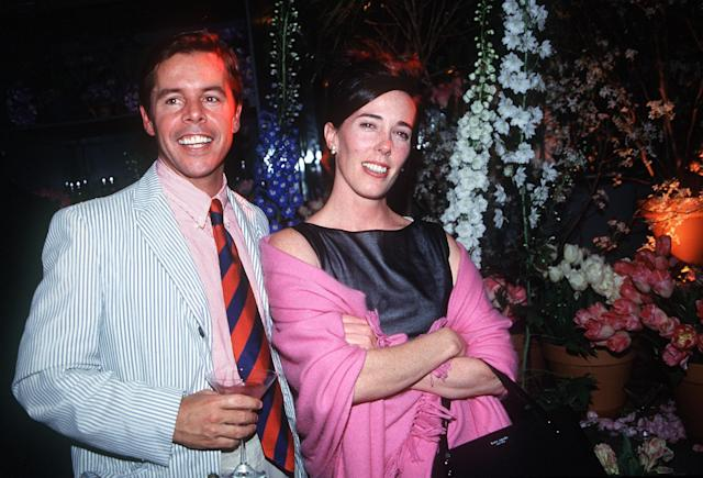 Andy and Kate Spade in 1999. (Photo: Globe Photos/zumapress.com)