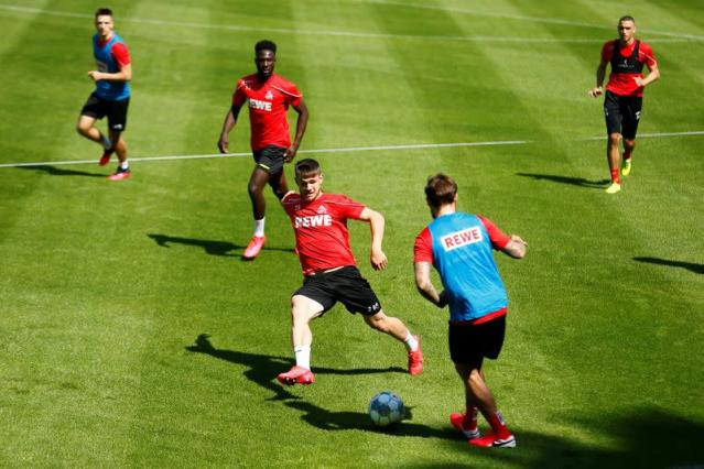 FILE PHOTO: FC Cologne Training