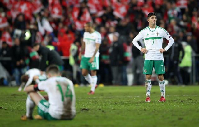 Northern Ireland fell just short against Switzerland in qualification for the 2018 World Cup