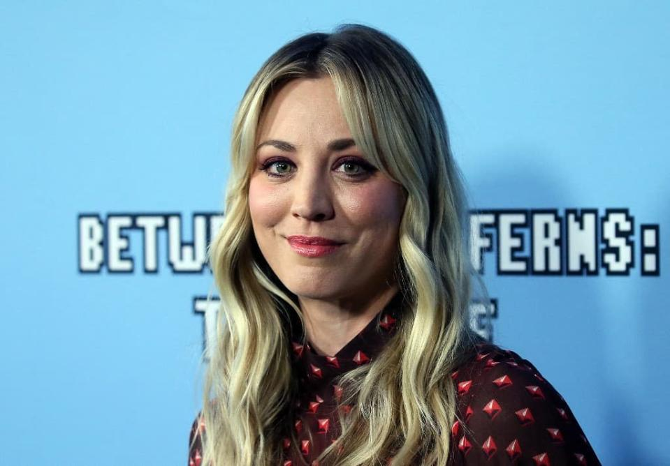Actress Kaley Cuoco says she's able to purchase the hit horse on the Olympics