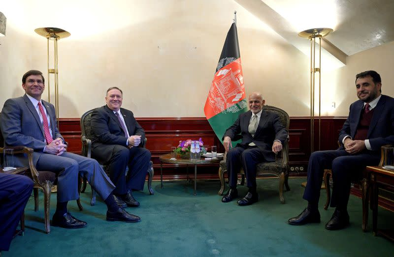 U.S., Taliban reach violence reduction pact that could lead to U.S. withdrawal