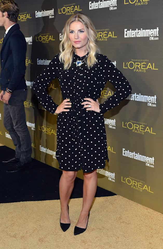 WEST HOLLYWOOD, CA - SEPTEMBER 21:  Actress Elisha Cuthbert attends The 2012 Entertainment Weekly Pre-Emmy Party Presented By L'Oreal Paris at Fig & Olive Melrose Place on September 21, 2012 in West Hollywood, California.  (Photo by Alberto E. Rodriguez/Getty Images for Entertainment Weekly)