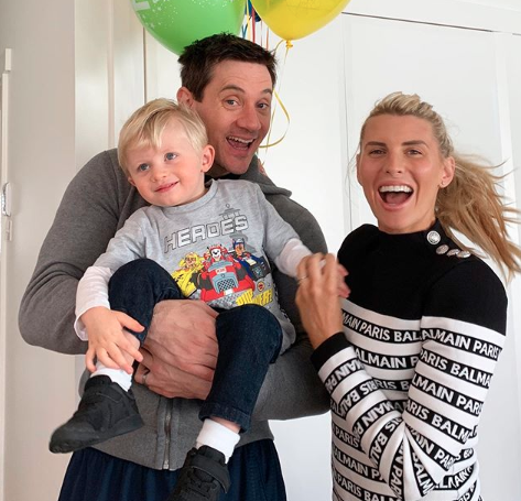 Tiff and husband Ed Kavalee welcomed son Arnold in 2017. Photo: Instagram/tiffhall_xo