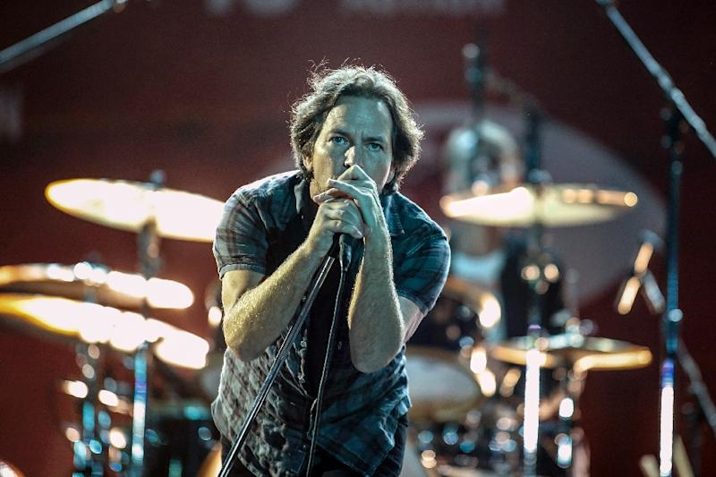 Pearl Jam, led by Eddie Vedder, pictured in 2015, has had five drummers since its inception in 1990 despite an otherwise steady lineup