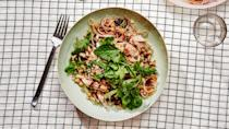 "<a href=""https://www.bonappetit.com/recipe/mouthwatering-turkey-with-glass-noodles?mbid=synd_yahoo_rss"" rel=""nofollow noopener"" target=""_blank"" data-ylk=""slk:See recipe."" class=""link rapid-noclick-resp"">See recipe.</a>"