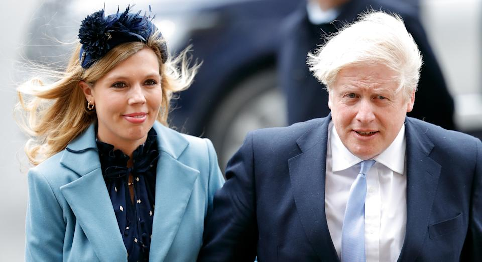 """Carrie Symonds has praised the """"magnificent"""" NHS after fiancé Boris Johnson was discharged from hospital (Getty Images)"""